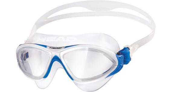 Head Horizon duikbrillen wit/transparant